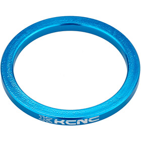 "KCNC Headset Spacer 1 1/8"" 3mm, blue"